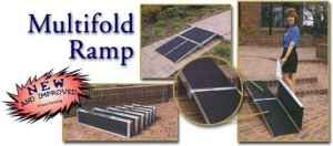multi fold wheelchair ramp